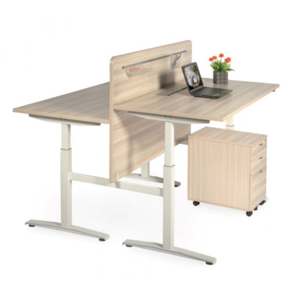 height adjustable desk converter